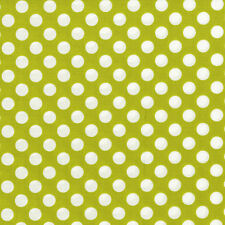 Lagoon Ta Dot Celery for Michael Miller, 1/2 yard 100% cotton fabric