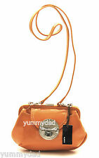 MIMCO HYBRID CLUTCH IN SPICE ORANGE PATENT LEATHER  BNWT RRP$199