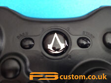 Custom XBOX 360 * ASSASSIN'S CREED logo argenté * guide bouton f3custom