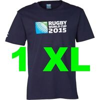England Rugby World Cup 2015 T Shirt Tee 1 XL X Large Extra L NAVY RWC Union NEW