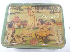 Vintage ASOO SWEETS Advertising Litho Print  TIN BOX ADV EHS