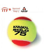 Karakal solo 75 Red Tennis ITF Approvato bassa pressione & Bounce BALL - 1 dozzina
