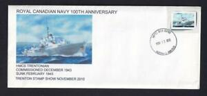 Canada 2010 Royal Canadian Navy 100th Anniv, private special event, inserts [L2]