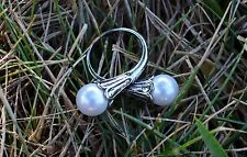 Khaleesi Ring Game of Thrones Daenerys Targaryen Pearl Ring Necklace USA Size 8
