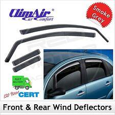 CLIMAIR Car Wind Deflectors MAZDA 6 Hatchback Mk2 2007-2012 SET of 4 NEW