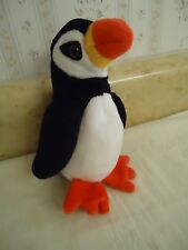 "TY Beanie Babies ""PUFFER"" Black & White Puffin.  PE Pellets. 1997. 5.5"". NEW"