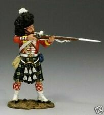 "King and Country CRW16 ""93rd Highlander Standing Firing"" 60mm Metal Toy Soldier"
