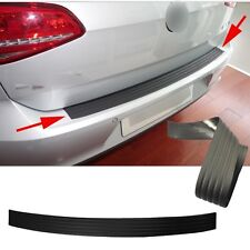 Universal Black Rear Bumper Protection Rubber Strip Anti-Scratch Door Sill Guard