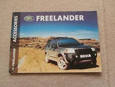 Land Rover Freelander Accessories.& Spec' .Brochure.1999.Collectors condition