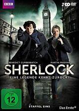 2 DVDs * SHERLOCK - SEASON / STAFFEL 1 # NEU OVP WVG