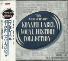 KONAMI LABEL VOCAL HISTORY COLLECTION 10 TH ANNIVERSARY   NEUF EN BLISTER