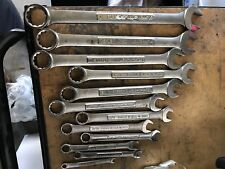 Craftsman SAE Combination Wrench Set  - Made IN U.S.A.