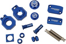 Moose Racing Blue Bling Pack CNC Aluminum For 2017 2018 Husqvarna FE 250 350 501