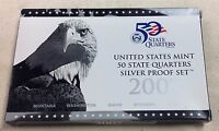 2007 US MINT SILVER QUARTER PROOF SET - Complete w/ Original Box and COA