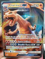 ULTRA RARE Charizard GX SM195 Black Star Promo Pokemon Detective Pikachu card