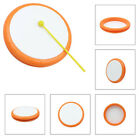 Educational Tambourine Plastic Musical Practical New Portable Hand Hold Drum YS