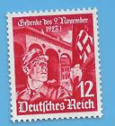 Germany WW2 German 1935 Beer Hall Hitler Putsch Swastika 12 stamp WW2 ERA