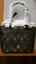 DISNEY PARK EXCLUSIVE,Dooney & Bourke Haunted Mansion 50th Anniversary Tote Bag
