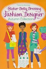 Sticker Dolly Dressing Fashion Designer Autumn Collection NEW BOOK (P/B 2014)