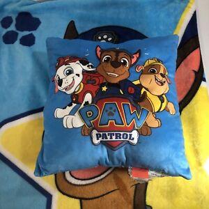 Nickelodeon PAW PATROL Character Pillow & Throw Blanket 2 Piece Set Kids NWOT