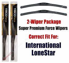 Wipers 2-Pack Hi-Performance fits 2009+ International LoneStar - 25220x2