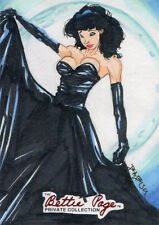 Bettie Page Private Collection Sketch Card by Babisu Kourtis
