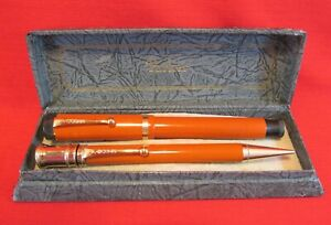 Parker Duofold Senior Red Set...Restored