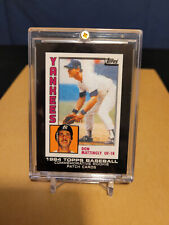 2014 Topps #RCP-19 Don Mattingly Rookie Patch Insert SP / Yankee Legend , Tough