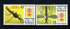 PAKISTAN 1962 Complete Malaria Eradication Set SG 156 & SG 157 MINT