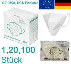 FFP2 FFP 2 NR CE 0598 - 5 lagig Filter Staub Atemschutzmasken ohne Ventil