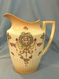 Crown Devon 1950s Pottery Milk Jug Creamer Watering Can Herb Planter