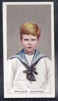 WILLS-KINGS & QUEENS (LONG CARD WILLS AT BASE)-#51- PRINCE EDWARD