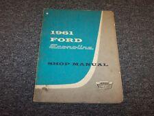 1961 Ford Econoline 87A 89A 89B Original Workshop Shop Service Repair Manual