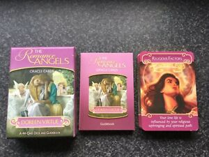 Doreen Virtue The Romance Angels Oracle Cards Genuine Original 2012 RARE
