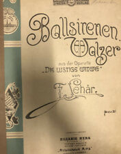Ballsirenenwalzer - Lehar