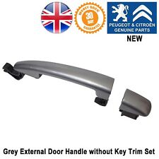 Peugeot 208 207 2008 Expert 3 Door Handle External Grey without Key Hole New