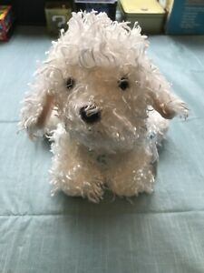 Bichon Frise size 9in Webkinz curly plush dog new with sealed unused code HM668