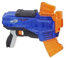 Nerf Rukkus ICS-8 N-Strike Elite Gun Blaster Toy +8