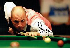 Joe PERRY SIGNED Photo Autograph COA AFTAL Snooker Player Sheffield 2016