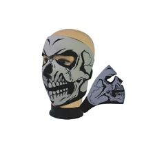 SKULL NEOPRENE OUTDOOR MOTOR BIKE CYCLING BMX MTB SKATE WINTER FULL FACE MASK