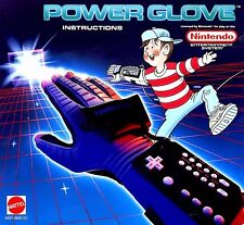 Nintendo Nes POWER GLOVE  BOX COVER ADVERTISEMENT   Photo Wall Poster Decor #5