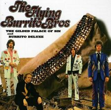 Flying Burrito Brothers Gilded Palace of Sin/Burrito Deluxe Remastered CD NEW