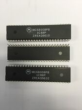 MC68008P8 16 BIT MICROPROCESSOR 48 PIN DIP NEW MOTOROLA