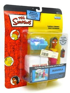 The Simpsons Figure - 2004 Manjula - Playmates World of Springfield Apu