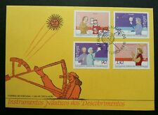 Portugal Nautical Instruments 1993 Maritime Science Technology (stamp FDC)
