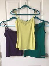 Ladies Vest Style Tops Sizes Small-Medium 10/12