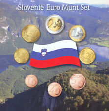 EURO KMS Slowenien 2007AMK Slovenie Munt Set