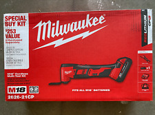 Milwaukee 2626-21CP M18 Oscillating Multi-Tool Kit - with Battery, Charger, Bag