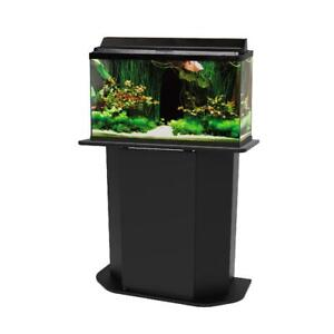 Deluxe 20/29 Gallon Aquarium Stand Storage Cabinet Fish Tank Holder Wood Door