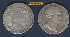 5 Francs AN 12 M Toulouse TB Napoléon, Empereur  Ier Empire, 1804 – 1814